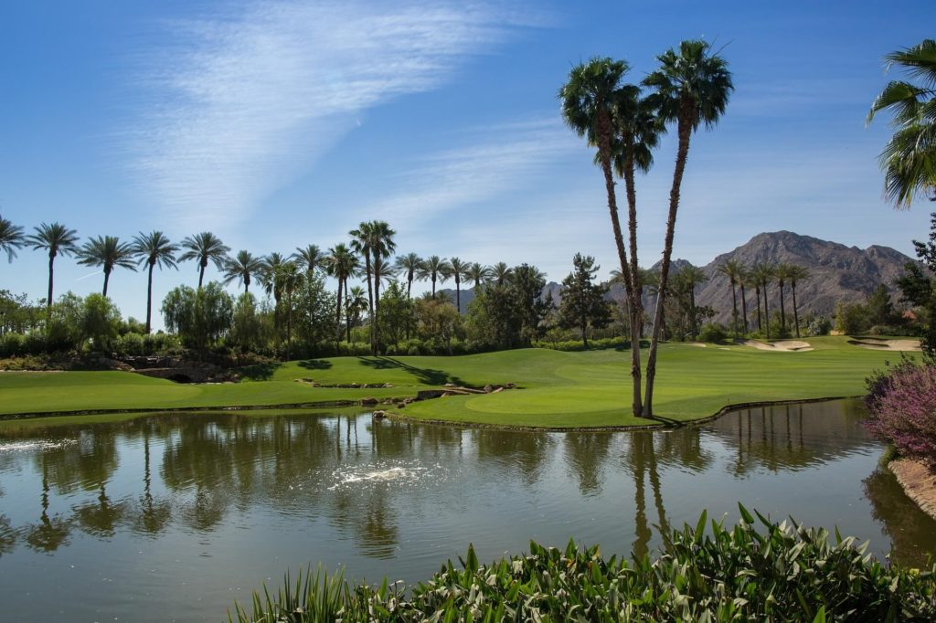 Golf course water management